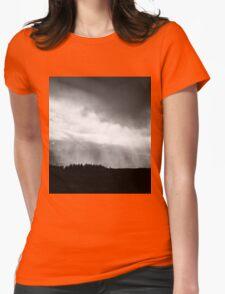 Dark Storm Womens Fitted T-Shirt