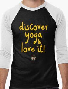 Mad Yogi # 4 Men's Baseball ¾ T-Shirt