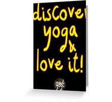 Mad Yogi # 4 Greeting Card