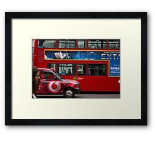 Oxford Street Transport Framed Print