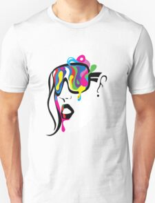 Abstract Vision Unisex T-Shirt