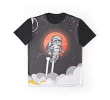 Zombie on Space Journey Graphic T-Shirt