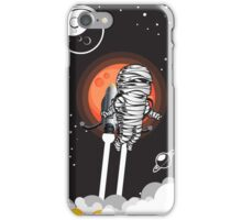 Zombie on Space Journey iPhone Case/Skin