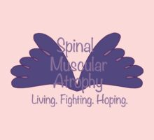 Spinal Muscular Atrophy - Living Fighting Hoping One Piece - Short Sleeve