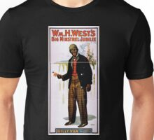 Performing Arts Posters Wm H Wests Big Minstrel Jubilee 1869 Unisex T-Shirt