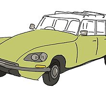citroen safari station wagon by Sandy Mitchell