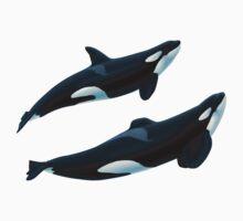 Keto and Tekoa Orcas by Art-by-Aelia