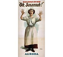 Performing Arts Posters Charles Frohmans new comedy Oh Susannah 1193 Photographic Print