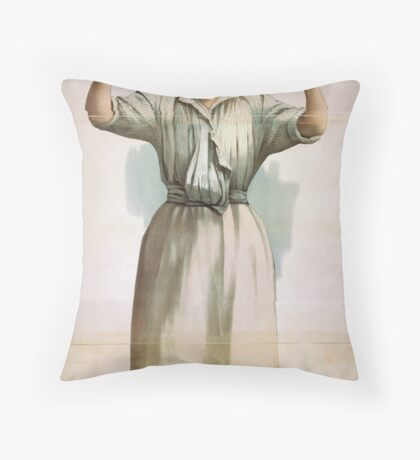 Performing Arts Posters Charles Frohmans new comedy Oh Susannah 1193 Throw Pillow