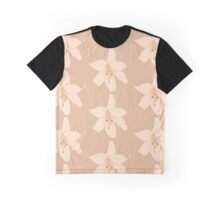 Beige calm lily  Graphic T-Shirt