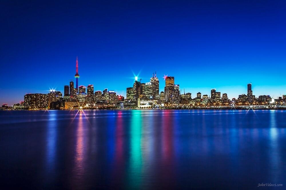 Toronto Skyline 4 by John Velocci