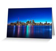 Toronto Skyline 4 Greeting Card