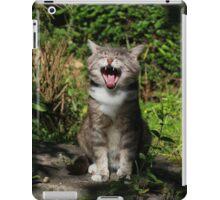 Singing cat iPad Case/Skin