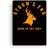Storm`s End Canvas Print
