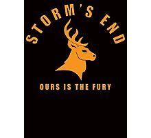Storm`s End Photographic Print