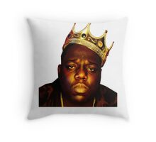 King B.I.G Throw Pillow
