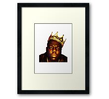 King B.I.G Framed Print