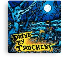 DRIVE BY TRUCKERS ALBUMS 5 Canvas Print