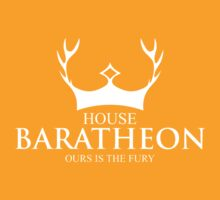 House Baratheon Our Is The Fury by nardesign