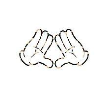 Hands(out) x Bape Photographic Print