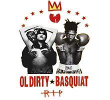 Ol' Dirty Bastard x Basquiat  Photographic Print