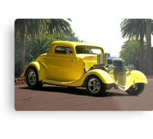 1934 Ford '3-Window' Coupe Metal Print