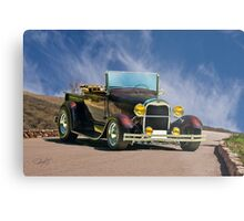 1929 Ford Model A Roadster Pickup Metal Print