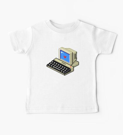 Cool computer love Baby Tee