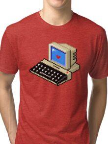 Cool computer love Tri-blend T-Shirt