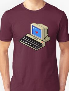 Cool computer love Unisex T-Shirt
