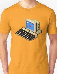 Cool computer love Unisex T-Shirt