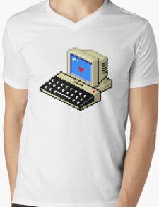 Cool computer love Mens V-Neck T-Shirt