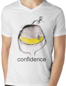 Confidence Mens V-Neck T-Shirt