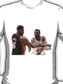 Lebron James getting hit T-Shirt