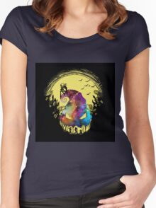 Jack The Nightmare before Christmas Women's Fitted Scoop T-Shirt