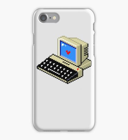 Cool computer love iPhone Case/Skin