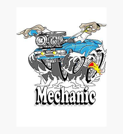 mechanic 11 Photographic Print