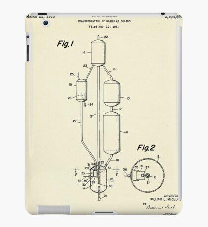 Transportation of Granular Solids-1955 iPad Case/Skin