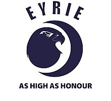 Eyrie - As High As Honor Photographic Print