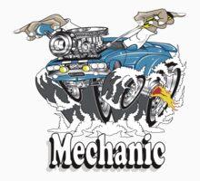 mechanic 11 Baby Tee