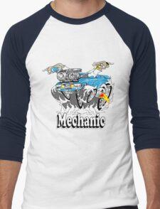 mechanic 11 Men's Baseball ¾ T-Shirt