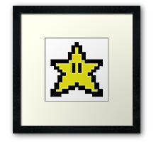 Funny star Framed Print