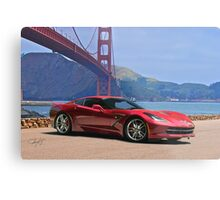 2014 Chevrolet Corvette Stingray Metal Print