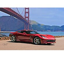 2014 Chevrolet Corvette Stingray Photographic Print