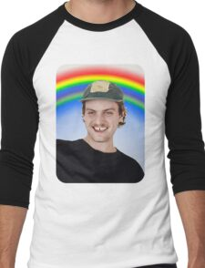 Rainbow Mac Demarco Men's Baseball ¾ T-Shirt