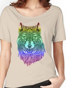 Spirit wolf Women's Relaxed Fit T-Shirt