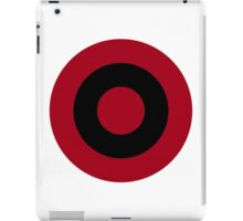 Albanian Air Force - Roundel iPad Case/Skin