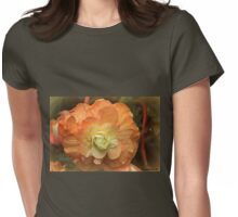 Begonia Beauty Womens Fitted T-Shirt