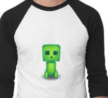 Kawaii Creeper Men's Baseball ¾ T-Shirt