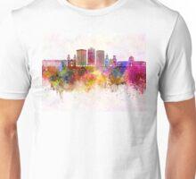 Tucson V2 skyline in watercolor background Unisex T-Shirt